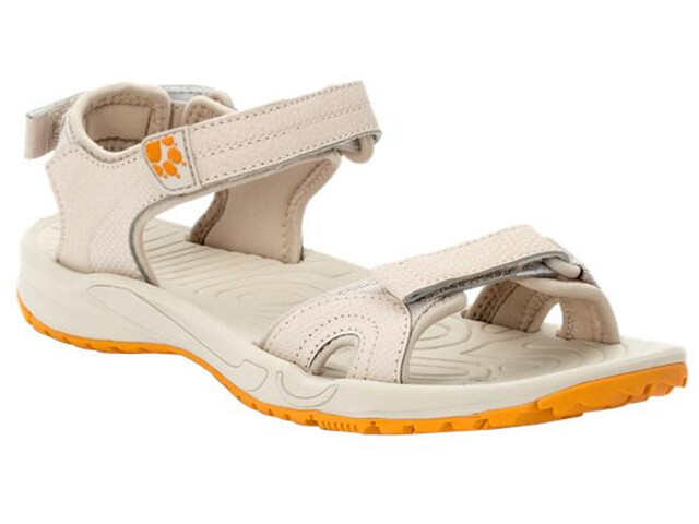 Jack Wolfskin Lakewood Cruise Sandals Women, beige/apricot